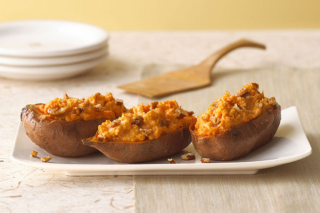 Twice-Baked Sweet Potatoes Image 1