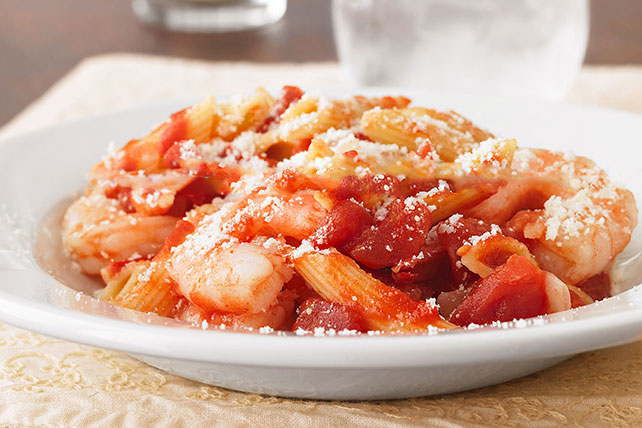 Shrimp Pomodoro Pasta Image 1