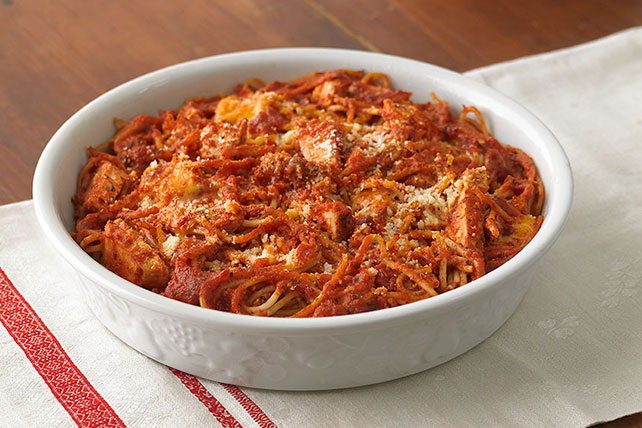 Chicken Spaghetti Bake