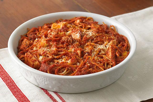 Leftover Spaghetti Pie Image 1