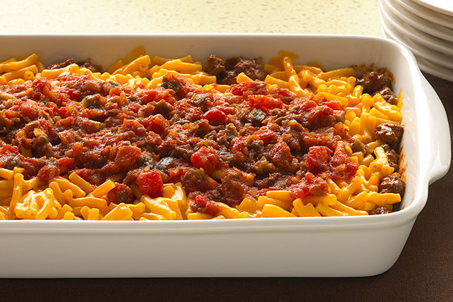 Easy Layered Taco Bake Image 1