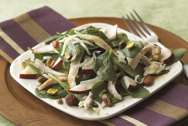 Rustic Spinach Salad