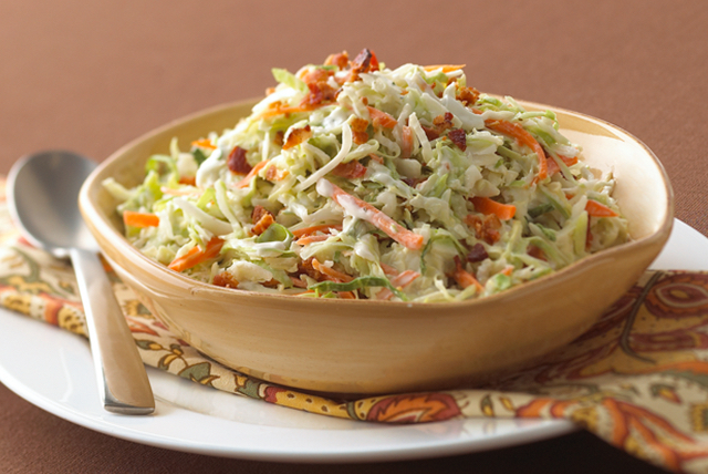 Ranch-Style Coleslaw with Bacon Image 1