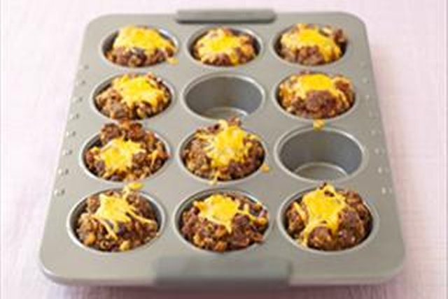 BBQ-Style Meatloaf Minis Image 1