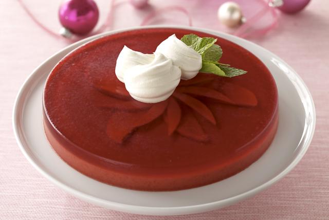 Postre de gelatina Nochebuena Image 1