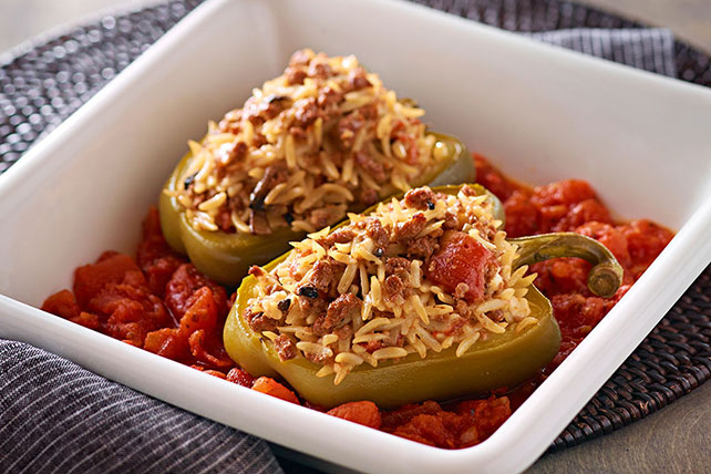 Athenian Stuffed Peppers Image 1