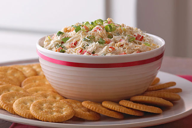 Creamy Crab and Red Pepper Spread Image 1