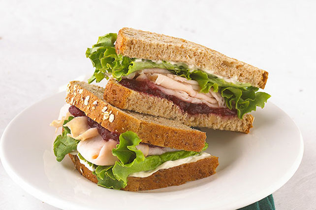 Turkey-Cranberry Sandwich Image 1