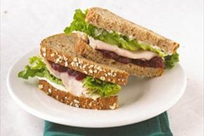 """Berry Good"" Turkey Sandwich"