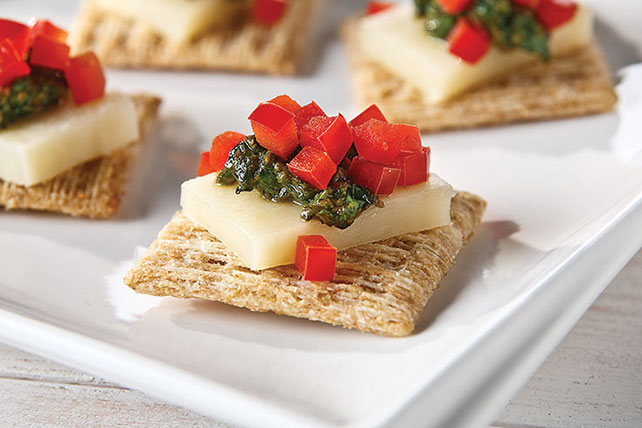 Bocaditos de queso con pesto Image 1