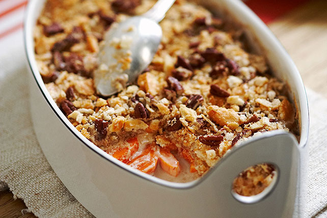 Sweet Potato Casserole with Pecans Image 1