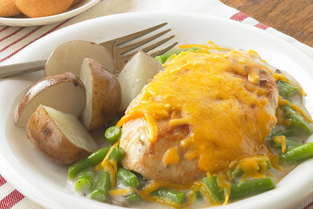 Smothered Chicken & Green Bean Skillet Image 1