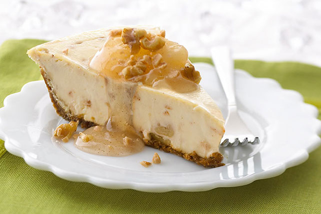 Candied Apple Pie Cheesecake