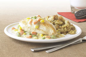 Creamy Chicken Skillet with Stuffing