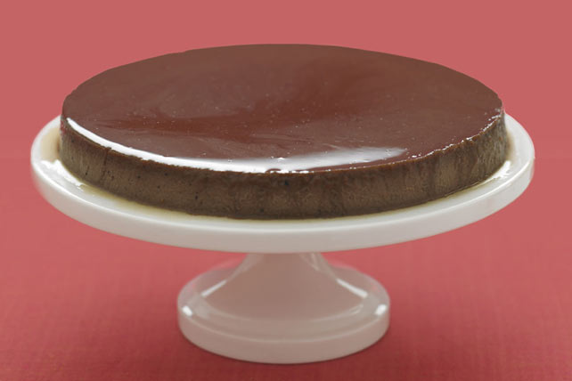Mocha-Cream Cheese Flan Image 1