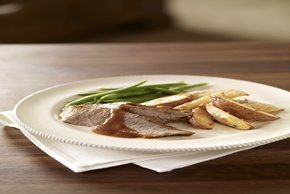 Braised Beef Brisket with Red Wine Sauce