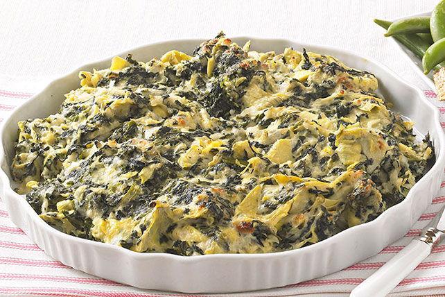 Trempette aux épinards, aux artichauts et au fromage Image 1