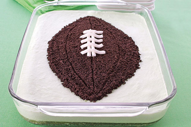 Gâteau « football » JELL-O
