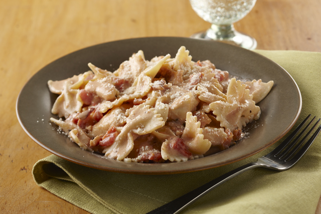Creamy Chicken, Bacon & Tomato Pasta Image 1
