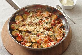 Skillet Parmesan Zucchini Recipe