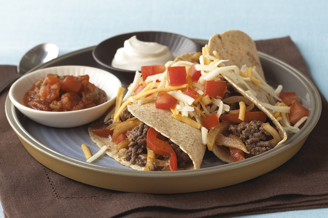 BBQ Beef Soft Tacos