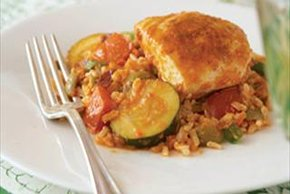 Chicken & Rice with Zucchini