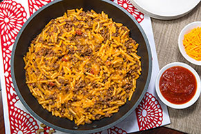 Tex-Mex Cheddar Mac