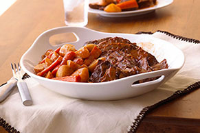 Beef Chuck Roast with Gravy
