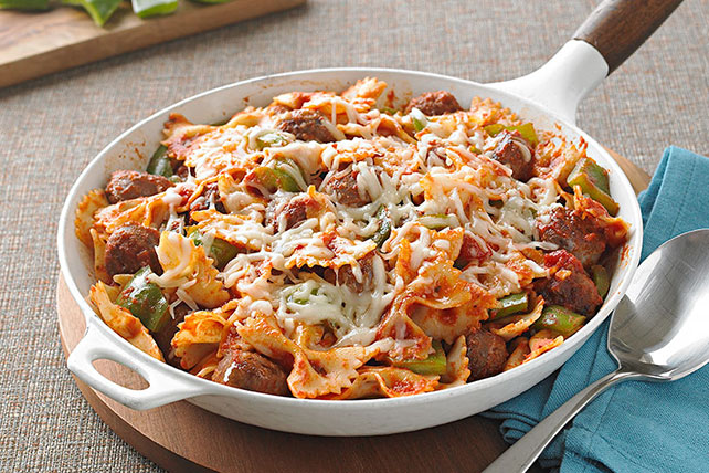 Italian Sausage and Pasta Bow Ties