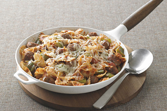 Italian Sausage and Pasta Bow Ties Image 1