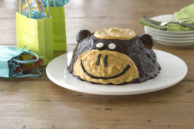 Monkeying-Around Cake