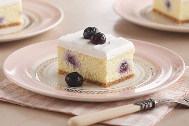 Creamy Lemon-Blueberry Dessert Image 1