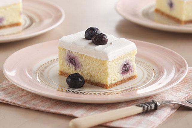 Kraft Recipes Lemon Cake: Lemon-Blueberry Cheesecake Dessert