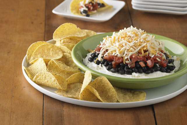 Layered Black Bean Dip Image 1