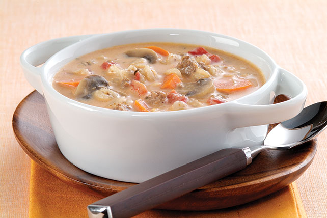 Sopa de cebada y carne de res Image 1