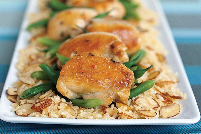 Pollo con almendras de 30 minutos Image 1