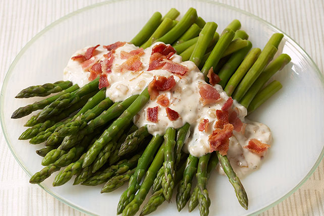 Asparagus & Bacon with Onion Ranch Dressing Image 1
