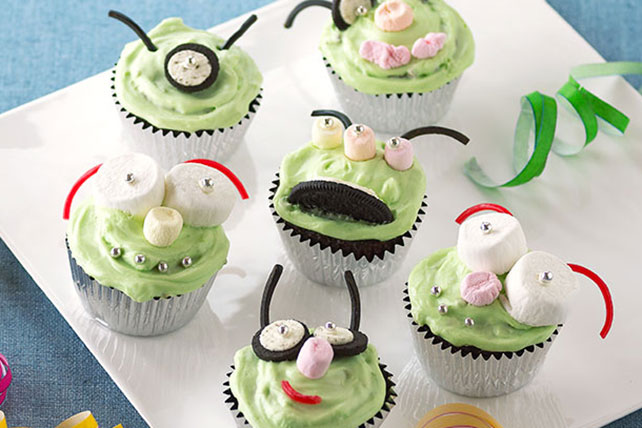 Attack of the Alien Cupcakes