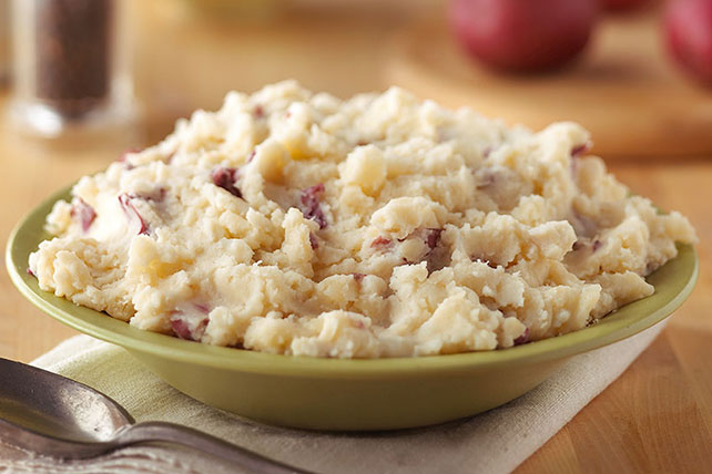 Cheesy and Creamy Mashed Potatoes Image 1