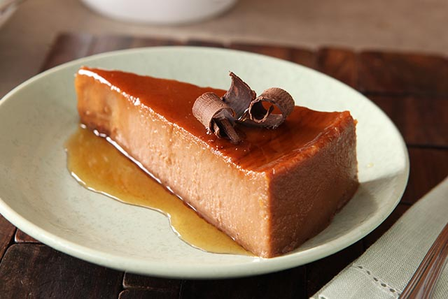 chocolate-orange-cream-cheese-flan-112900 Image 1
