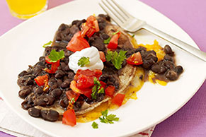 Quesadillas in Black Bean Sauce