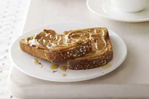 Sweet Peanut Butter Toast