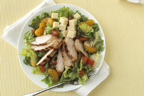 Warm Mandarin Chicken Salad