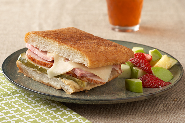 Cuban-Style Ham & Turkey Sandwiches Image 1