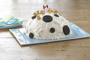 Gâteau « Oursons sur la lune »