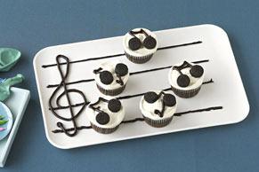 Do-Re-Mi Cupcakes
