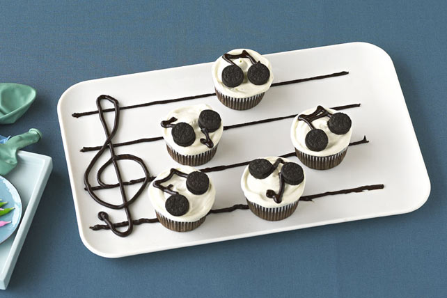 Do-Re-Mi Music Cupcakes