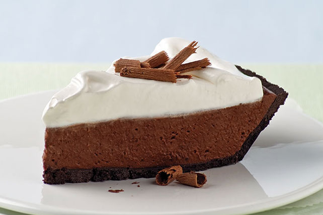 Chocolate Silk Pie with Marshmallow Meringue
