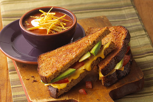 Grilled Cheese & Avocado Sandwich Image 1