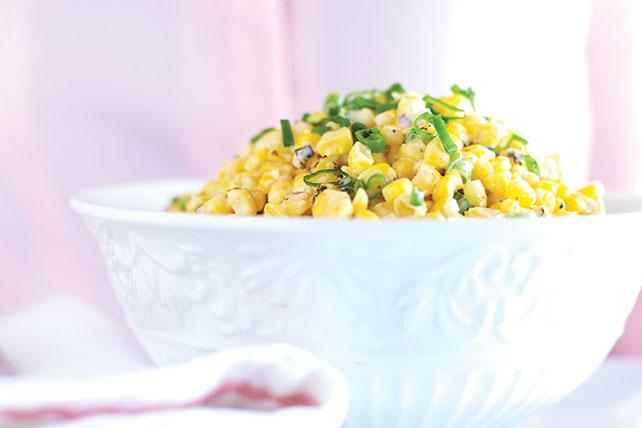 Grilled Corn with Spicy Lime Mayo Image 1